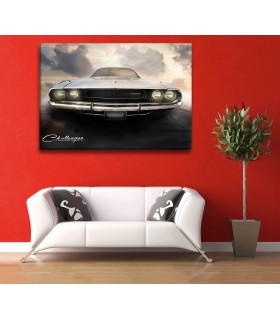 challenger car canvas frames